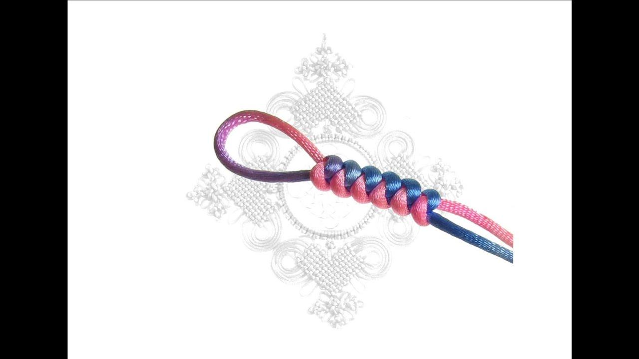 徒手蛇結&徒手金剛結-初級基本結【一線生機】(Snake Knot) (Reinforced Snake Knot) - YouTube