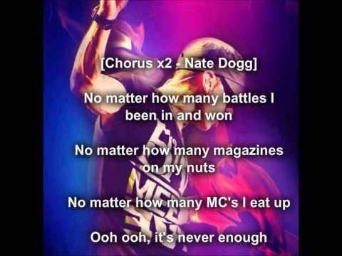 EminemNever EnoughLyrics