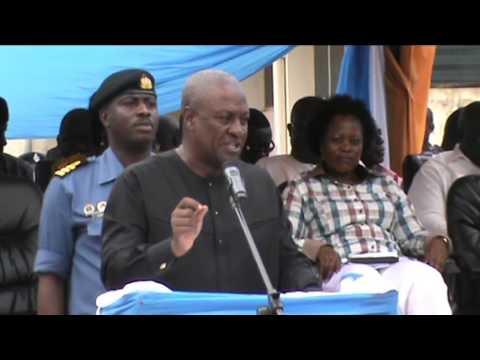 President John Dramani Mahama visit to Koforidua Polytechnic