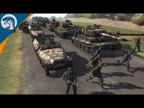 BUILDING INSANE DEFENSE LINE KURSK 1943 | RobZ Realism Mod | Men of War: Assault Squad 2 Gameplay