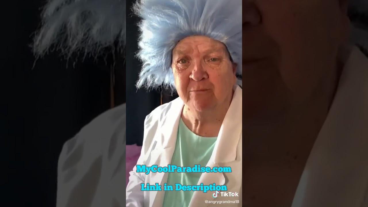 Angry Grandma Rick and Morty pt 1 | #AngryGrandma #RickandMorty #TikTok