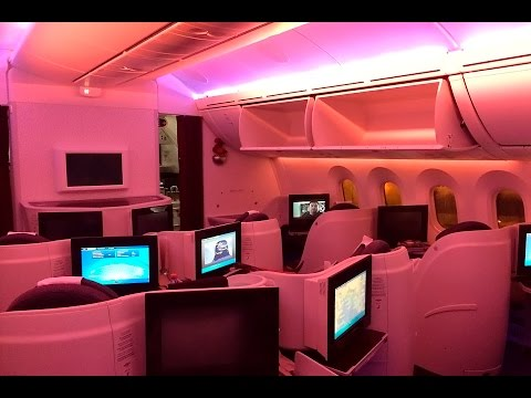 Qatar Airways | 787 Dreamliner | SIN-DOH | Business Class