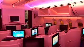 Qatar Airways | 787 Dreamliner | SIN-DOH | Business Class
