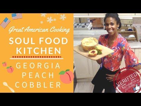 Georgia Peach Cobbler (Homemade Pie Crust & Fresh Peaches)...Georgia On My Mind