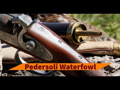Hunting With Pedersoli Waterfowl Muzzleloading Side-by-side Shotgun