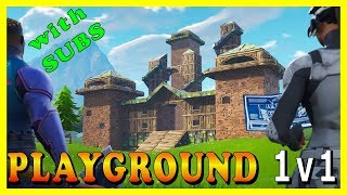 """FORTNITE PLAYGROUND 1v1 SUBSCRIBERS - """"MAGNUS"""" SKIN is BACK IN THE ITEM SHOP!"""