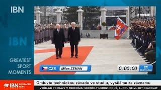 Legendární Milošova otočka s původním necenzurovaným komentářem