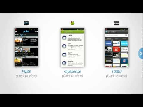Discovering three useful News Android apps