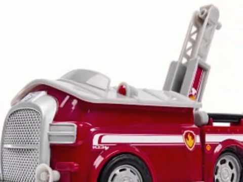 camion de pompier pat 39 patrouille marshall jouet youtube. Black Bedroom Furniture Sets. Home Design Ideas