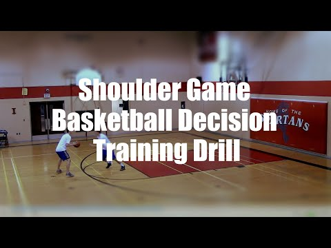 Shoulder Game Basketball Decision Training Drill