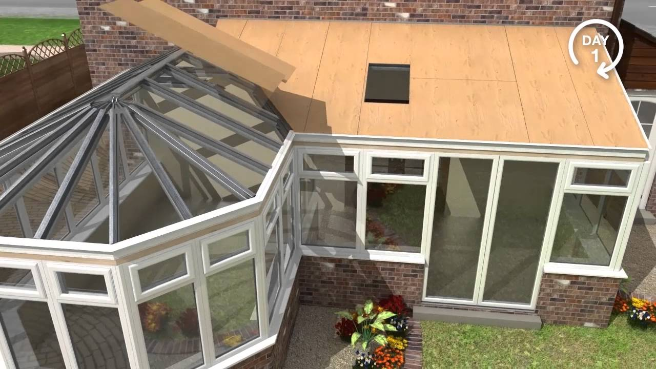Guardian Warm Roof System Youtube