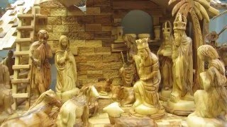 Bethlehem Nativity Souvenirs - Hand Carved Olive Wood
