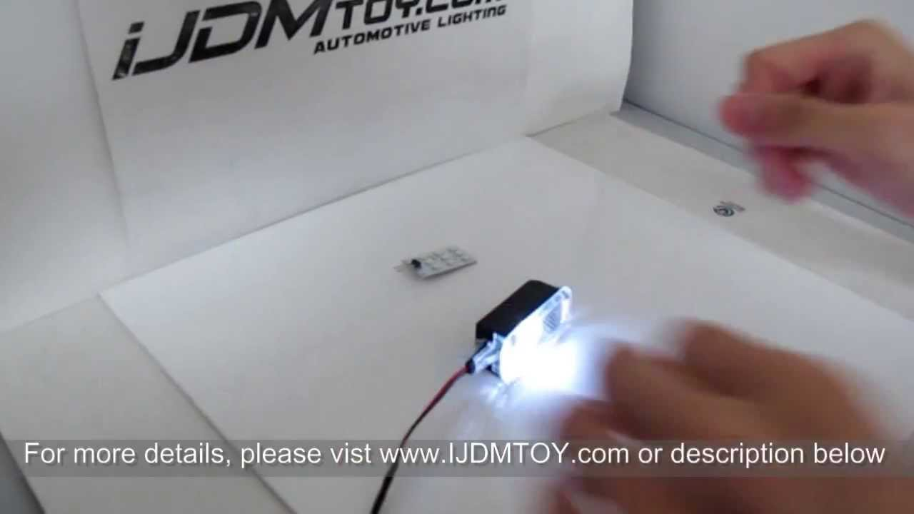 How To Install Led Replacement Light For Audi Side Door
