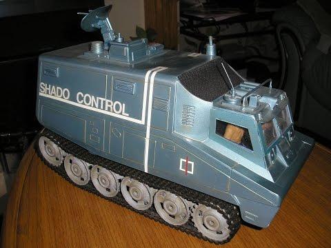 SHADO CONTROL MOBILE  UFO (SCRATCH BUILT) RC