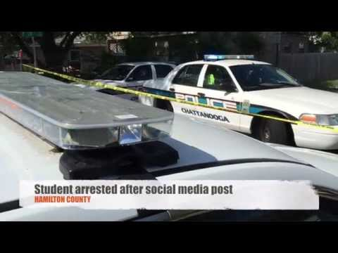 Hamilton County TN student arrested after social media post