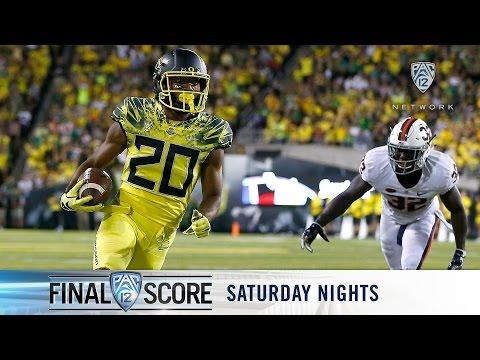 Highlights: Oregon football rolls past UVA at Autzen