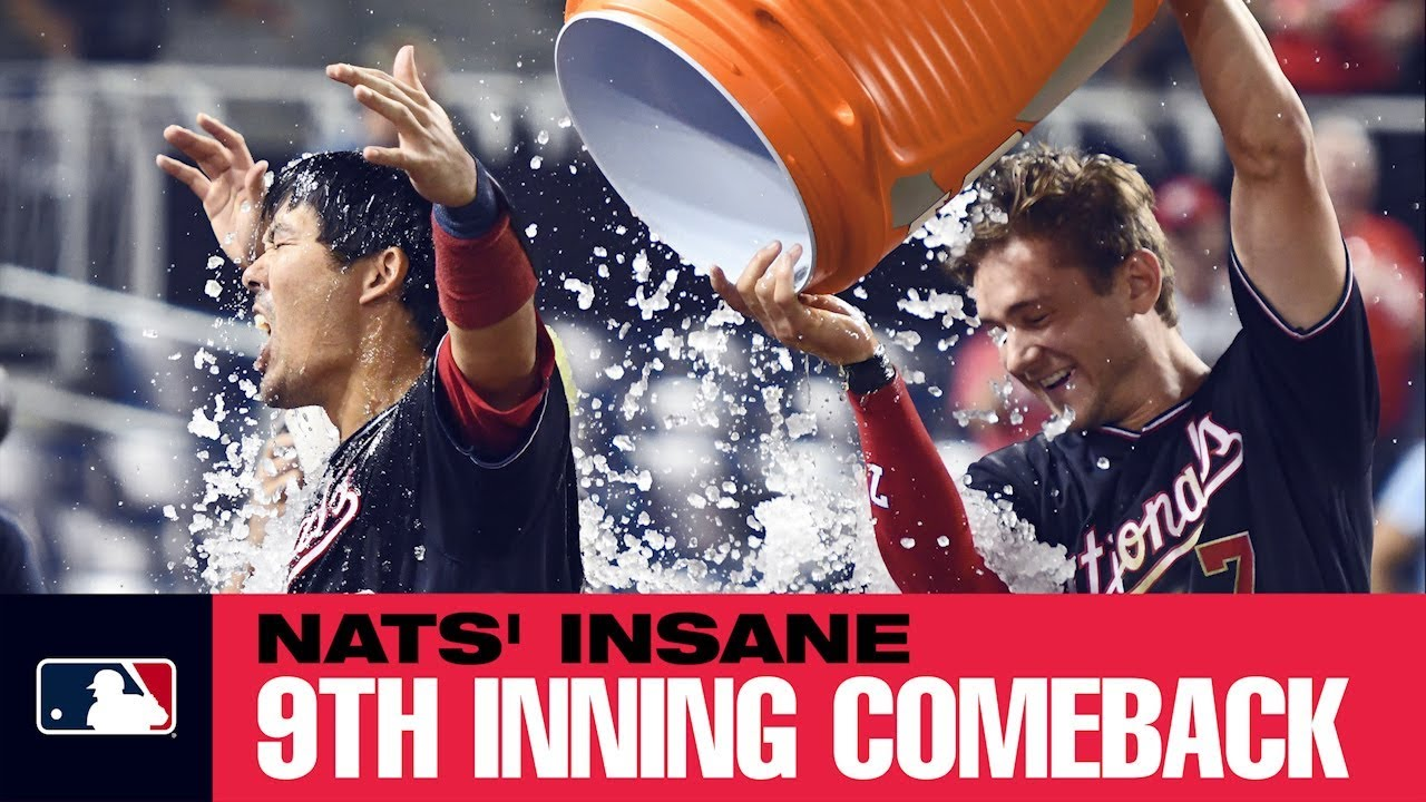 Download Nats' insane 9th inning comeback