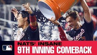 Nats' insane 9th inning comeback