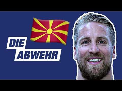 Gegnercheck Mazedonien