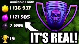 THE SHOCKING LOOT FOUND IN LEGENDS LEAGUE! - Clash Of Clans