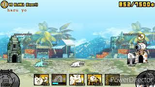 The Battle Cats - New Challenger VS BLANKA (Expert)