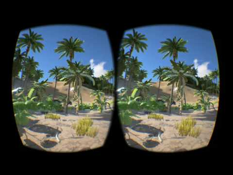 ARK Survival Evolved on Oculus Rift