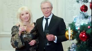 Ирина Аллегрова иВячеслав Фетисов. Поздравление с Новым годом