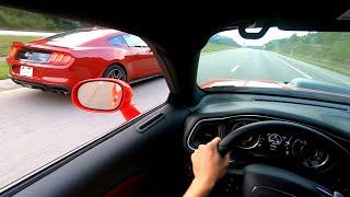 2019 Ford Mustang GT vs Dodge Challenger ScatPack