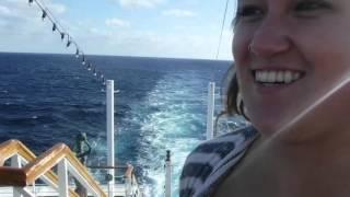 Aboard the MV World Odyssey