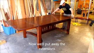 Dutch Table Exensions By Austin Joinery