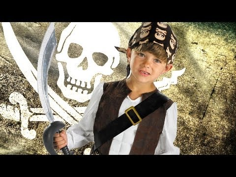 Kids Pirate Halloween Costumes