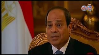 السيسي..  مصر دفعت التمن كبير أوى «الـ 5 سنين اللي فاتوا»