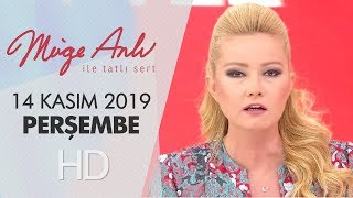 Müge Anlı ile Tatlı Sert 14 Kasım 2019 - Tek Parça