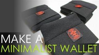 Make A Minimalist / Compact Wallet FREE PATTERN