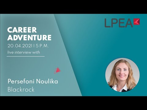 Career Adventure with BlackRock / Persefoni Noulika