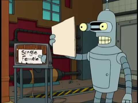 Single Female Lawyer   Futurama