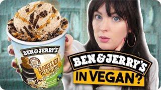 Schmeckt veganes Ben & Jerry's Eis BESSER als normale Eiscreme? l FAKE vs ORIGINAL