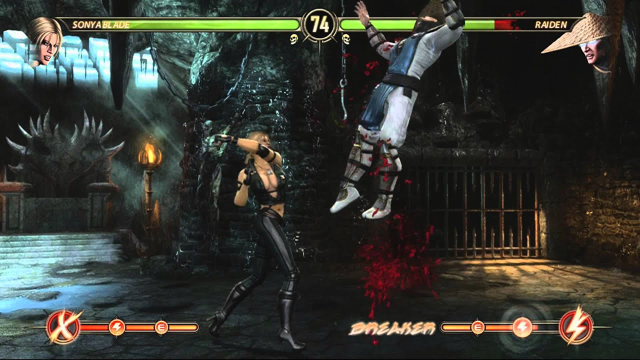 10 Minute Gameplay Mortal Kombat Xbox 360 Youtube
