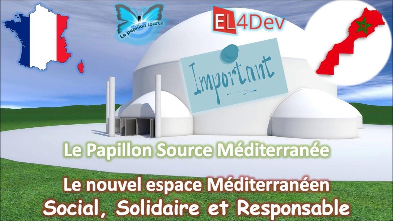 Un nouvel espace Méditerranéen social solidaire – EL4DEV Le Papillon Source Méditerranée