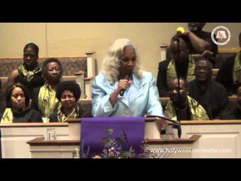 "Holy Week 2015 Dr  Millicent Hunter ""Break It Open & Pour It Out"""