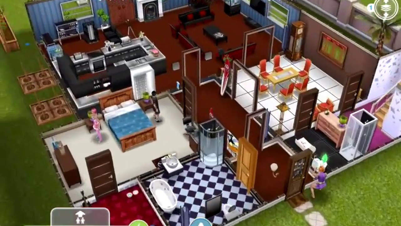 Sims Freeplay Helper Have A Sim Design Fashion In A Neighbor S House