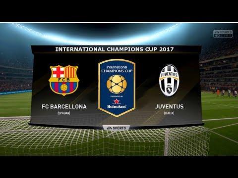 BARCELONA VS JUVENTUS - INTERNATIONAL CHAMPIONS CUP 2017   22/7/2017  FIFA 17 Predicts - Pirelli7