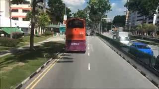 Bus 4 sbs transit timelapse (Loop)