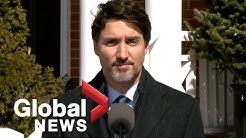 Coronavirus outbreak: Justin Trudeau closes Canada's borders to foreign travellers | FULL