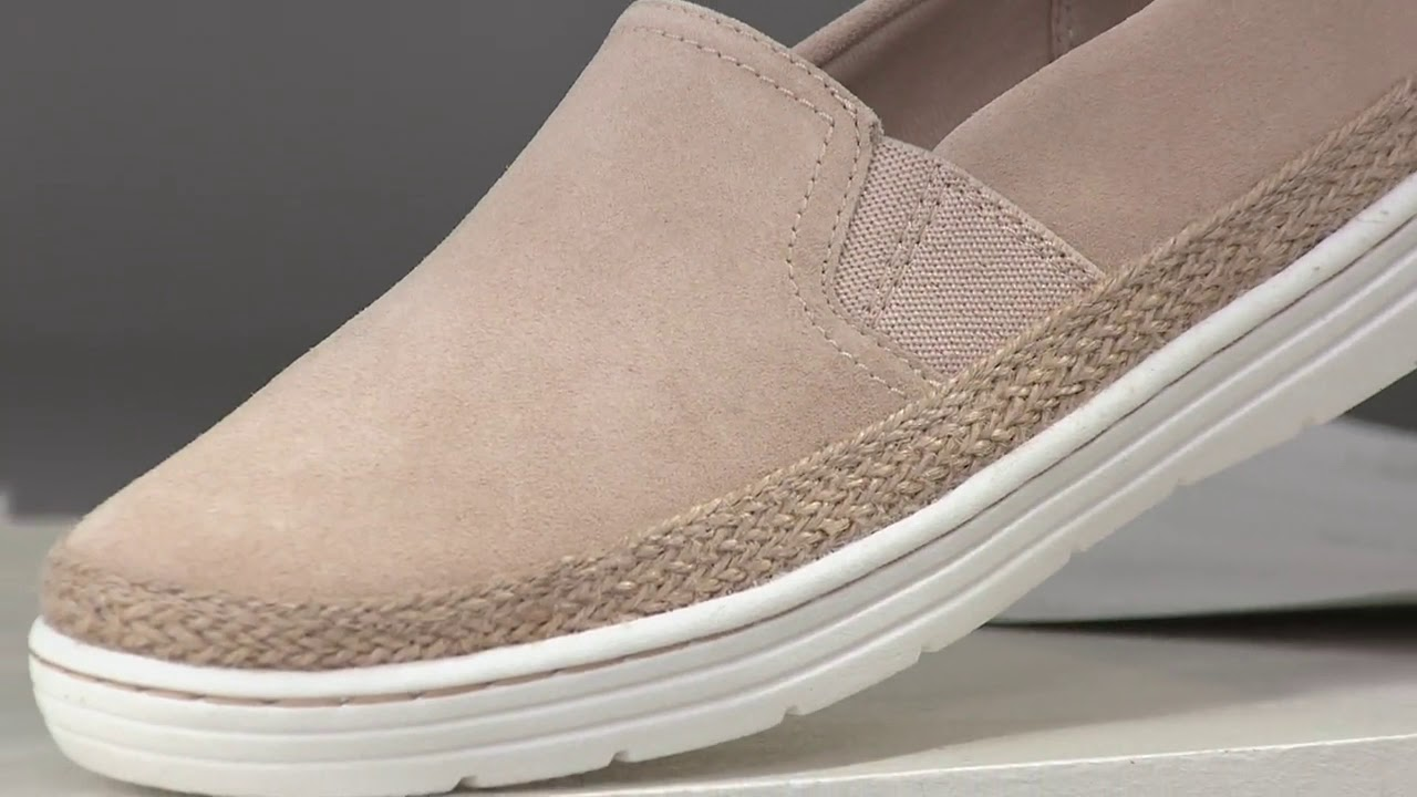 Clarks Collection Leather Slip-On Shoes