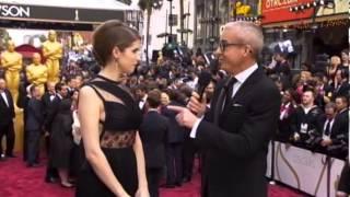 Anna Kendrick Oscars 2014 - Red Carpet Interview