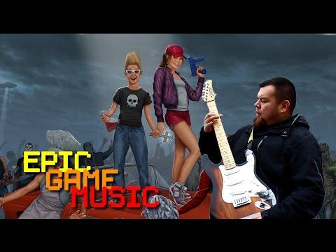 "Zombies Ate My Neighbors ""Zombie Panic"" Music Video // Epic Game Music"