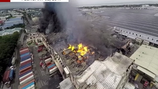 peza clears hti on factory fire in cavite