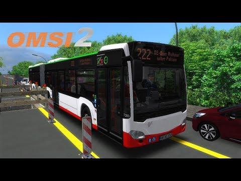 De bordillo en bordillo | Add-On Metropole Ruhr | Línea 222 | Mercedes-Benz Citaro C2G | OMSI 2 🚌