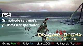 DRAGON DOGMA PS4 Grimoire salomet`s y Cristal transportador | SeriesRol